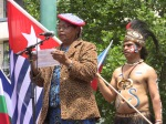 Mama Hiska Bukorpioper  West Papua Melbourne Community elder