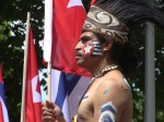 West Papua ceremonial Warrior