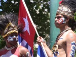 West Papua ceremonial Warriors
