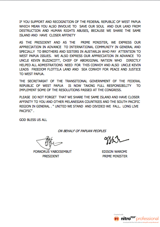 PRESS STATEMENT ON FREEDOM FLOTILLA2