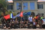 Freedom Flotilla participants at Australian Customs Thursday Island