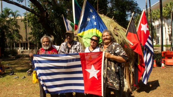 The first Freedom Forum held in Darwin on Larrakia Land  Papua Merdeka!