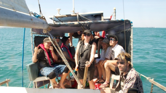 West Papua flotilla crew